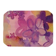 KESS InHouse Dissolved Flowers Placemat