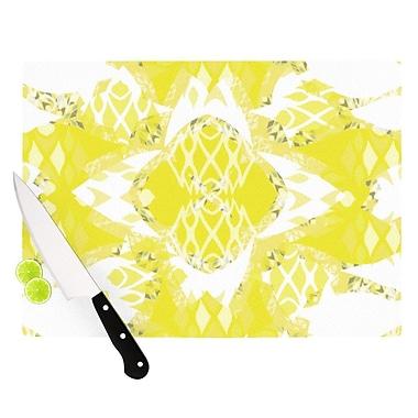 KESS InHouse Citrus Spritz Cutting Board; 8.25'' H x 11.5'' W x 0.25'' D
