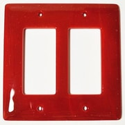 Hot Knobs Solid 2 Gang Decora Wall Plate
