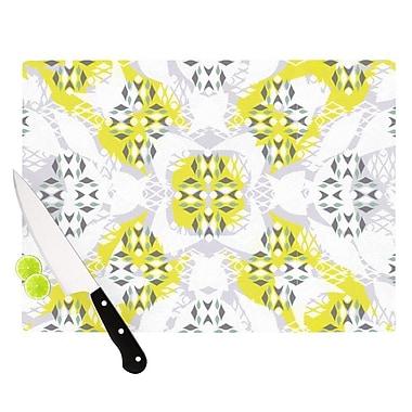 KESS InHouse Vernal Season Cutting Board; 11.5'' H x 15.75'' W x 0.15'' D