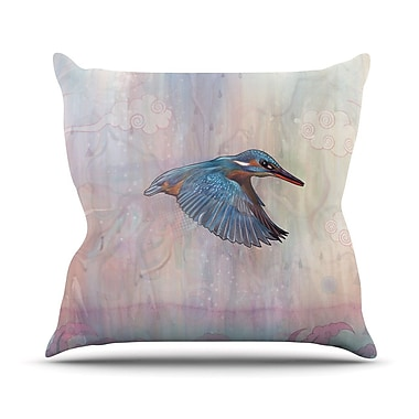 KESS InHouse Terror From Above Throw Pillow; 26'' H x 26'' W
