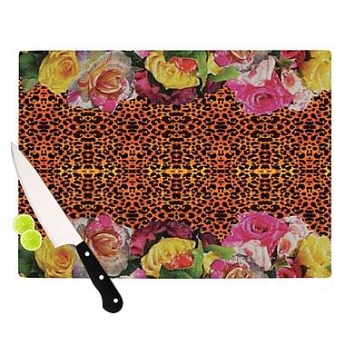 KESS InHouse New Rose Eleo Cutting Board; 8.25'' H x 11.5'' W x 0.25'' D