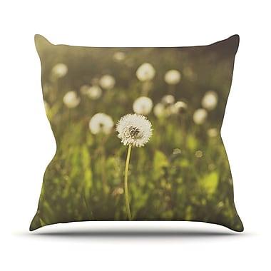 KESS InHouse As You Wish Throw Pillow; 20'' H x 20'' W