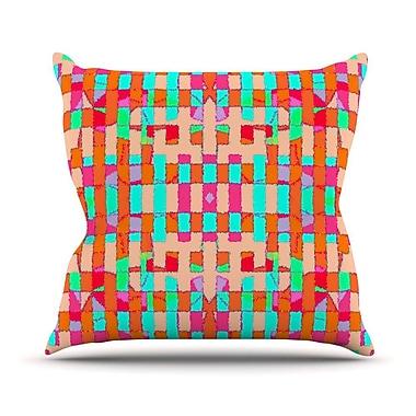 KESS InHouse Sorbetta Throw Pillow; 16'' H x 16'' W