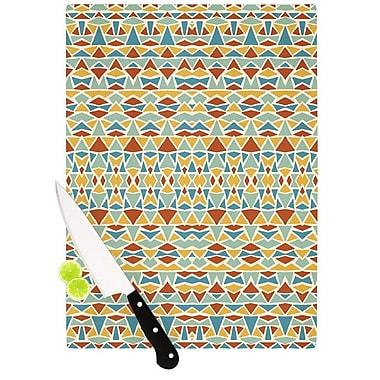 KESS InHouse Tribal Imagination Cutting Board; 8.25'' H x 11.5'' W x 0.25'' D