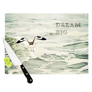 KESS InHouse Dream Big Cutting Board; 11.5'' H x 15.75'' W x 0.15'' D