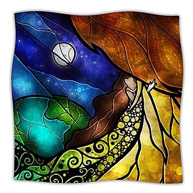 KESS InHouse Psalms Throw Blanket; 80'' L x 60'' W