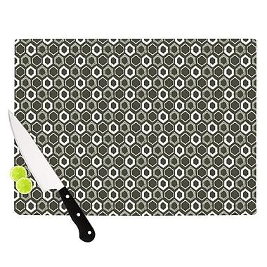 KESS InHouse Hexy Cutting Board; 8.25'' H x 11.5'' W x 0.25'' D
