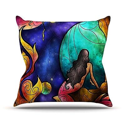 KESS InHouse Believe Throw Pillow; 26'' H x 26'' W
