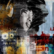 TAF DECOR Art-For-You Sound Diva by Erik DeAndre  Graphic Art on Wrapped Canvas