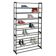 Sunbeam 10-Tier 50 Pair Shoe Rack