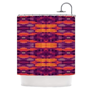 KESS InHouse Medeaquilt Shower Curtain