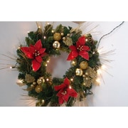 Queens of Christmas Flocked Wreath