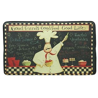 Bacova Guild Standsoft Good Life Vintage Doormat