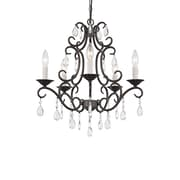 TransGlobe Lighting 5-Light Candle-Style Chandelier