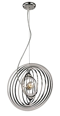 TransGlobe Lighting Galaxy Nebula 1 Light Pendant