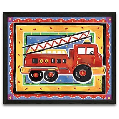 Timeless Frames Fire Engine Framed Graphic Art
