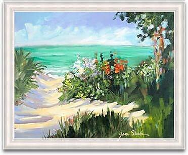 Timeless Frames Beach Framed Painting Print