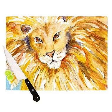 KESS InHouse Wild One Cutting Board; 8.25'' H x 11.5'' W x 0.25'' D