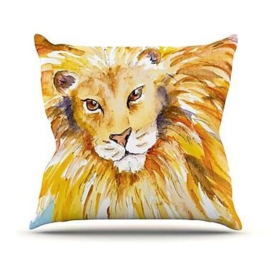 KESS InHouse Wild One Throw Pillow; 20'' H x 20'' W