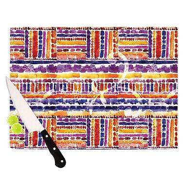 KESS InHouse Tribal Cutting Board; 8.25'' H x 11.5'' W x 0.25'' D