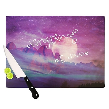 KESS InHouse Everything at Once Cutting Board; 8.25'' H x 11.5'' W x 0.25'' D