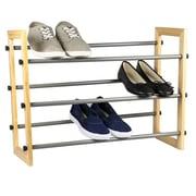 Sunbeam Expandable 3-Tier 9 Pair Shoe Rack