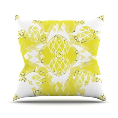 KESS InHouse Citrus Spritz Throw Pillow; 26'' H x 26'' W