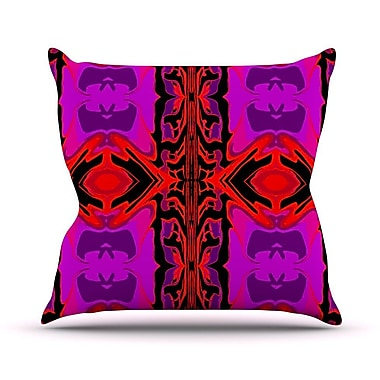 KESS InHouse Ornamena Throw Pillow; 18'' H x 18'' W
