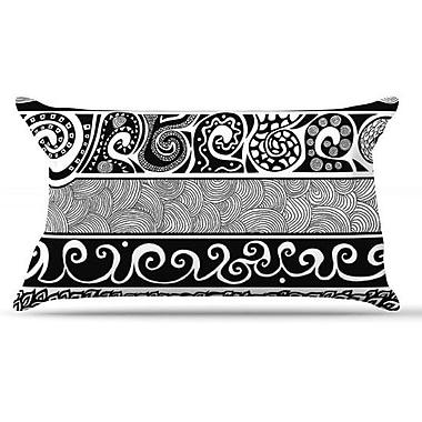 KESS InHouse Tribal Evolution Pillow Case; King