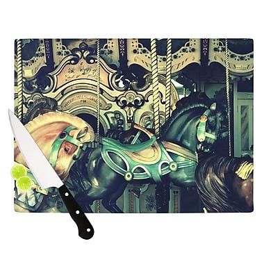 KESS InHouse Carousel Cutting Board; 8.25'' H x 11.5'' W x 0.25'' D