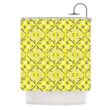 KESS InHouse Seedtime Shower Curtain