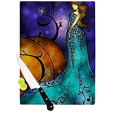 KESS InHouse Cinderella Cutting Board; 8.25'' H x 11.5'' W x 0.25'' D
