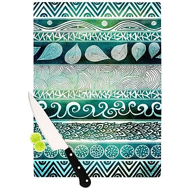 KESS InHouse Dreamy Tribal Cutting Board; 11.5'' H x 15.75'' W x 0.15'' D
