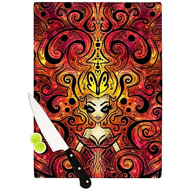 KESS InHouse She Devil Cutting Board; 11.5'' H x 15.75'' W x 0.15'' D