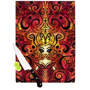 KESS InHouse She Devil Cutting Board; 11.5'' H x 15.75'' W x 0.15'' D
