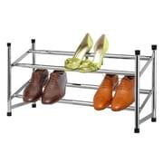 Sunbeam Expandable 2-Tier 6 Pair Shoe Rack