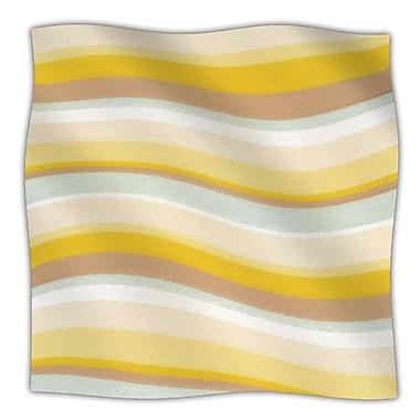 KESS InHouse Desert Waves Fleece Throw Blanket; 80'' L x 60'' W