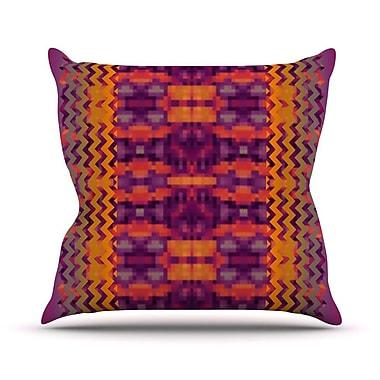 KESS InHouse Medeasetta Throw Pillow; 18'' H x 18'' W
