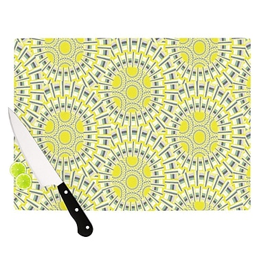 KESS InHouse Sprouting Cells Cutting Board; 8.25'' H x 11.5'' W x 0.25'' D