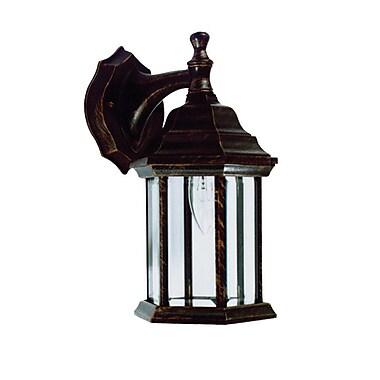 Whitfield Lighting Ken 1-Light Outdoor Wall Lantern; Oil Rubbed Bronze