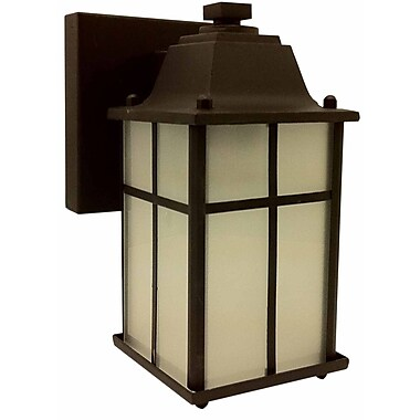 Whitfield Lighting Jordan 1-Light Outdoor Wall Lantern; Oil Rubbed Bronze