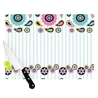 KESS InHouse Paisley Party Cutting Board; 11.5'' H x 15.75'' W x 0.15'' D