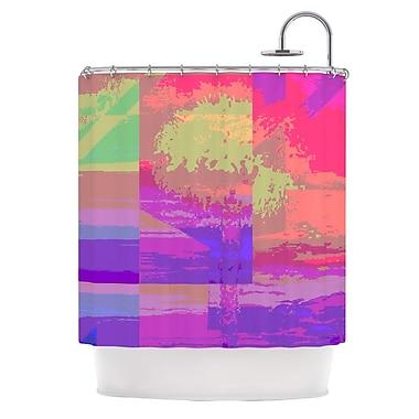 KESS InHouse Impermiate Poster Shower Curtain