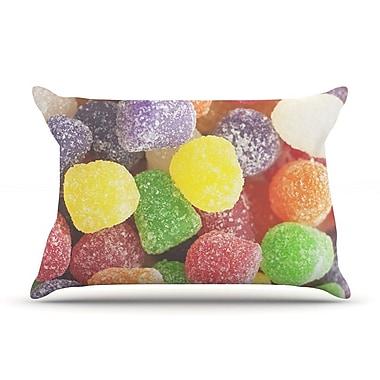 KESS InHouse I Want Gum Drops Pillow Case; Standard