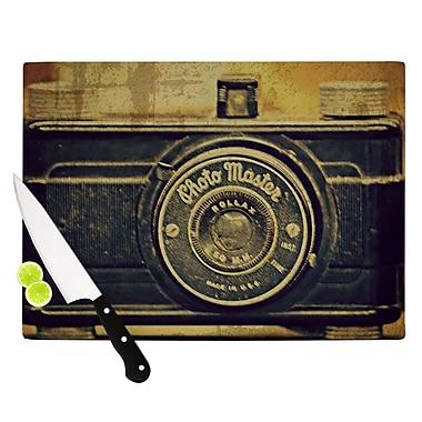 KESS InHouse Discarded Treasure Cutting Board; 8.25'' H x 11.5'' W x 0.25'' D