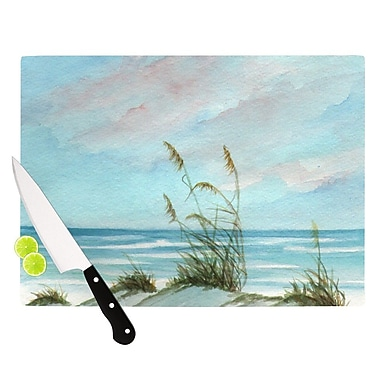 KESS InHouse Sea Oats Cutting Board; 8.25'' H x 11.5'' W x 0.25'' D