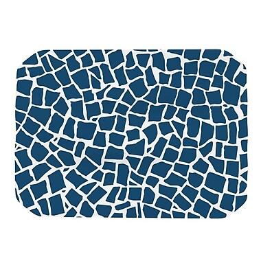 KESS InHouse British Placemat; Mosaic Navy