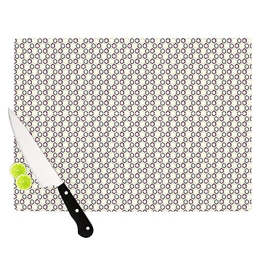 KESS InHouse Hexy Small Cutting Board; 11.5'' H x 15.75'' W x 0.15'' D