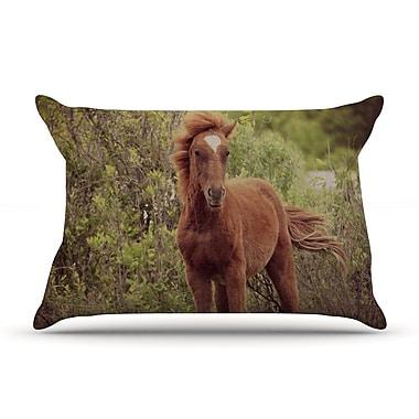 KESS InHouse Confucius Pillow Case; Standard